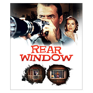 Rear Window. Размер: 25 х 30 см